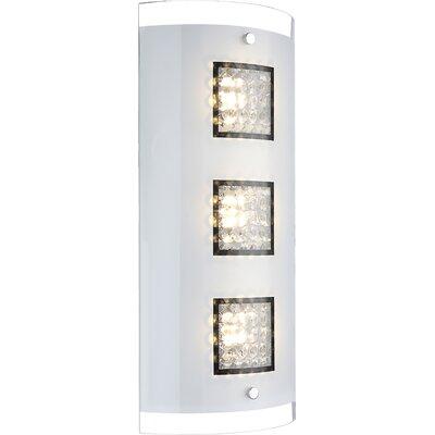 House Additions 3 Light Flush Wall Light