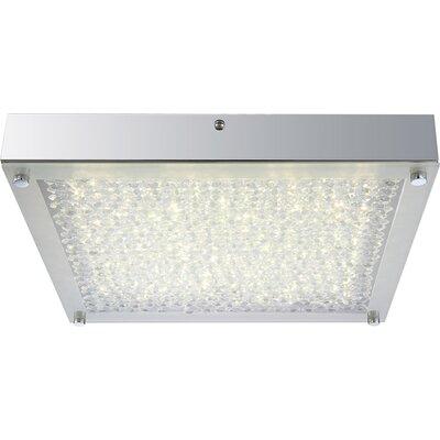 House Additions Maxime 1 Light Flush Ceiling Light