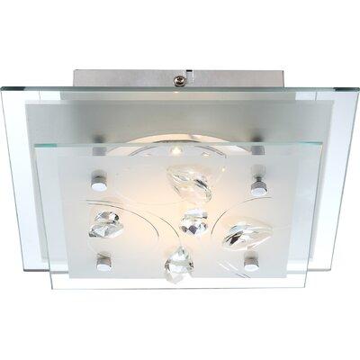 House Additions Eline 1 Light Flush Ceiling Light