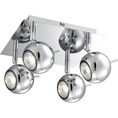 House Additions Oberon 4 Light Ceiling Spotlight