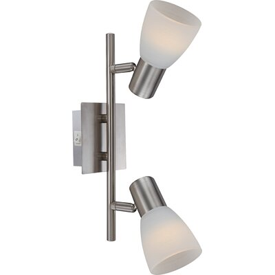 House Additions Parry I 2 Light Ceiling Spotlight