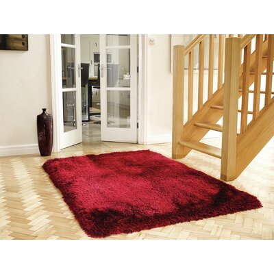 House Additions Pearl Red Area Rug