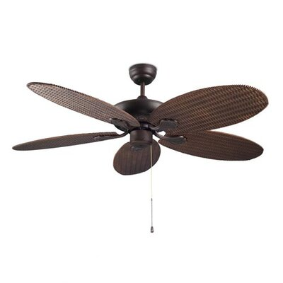 House Additions 132cm Phuket 5 Blade Ceiling Fan with Remote