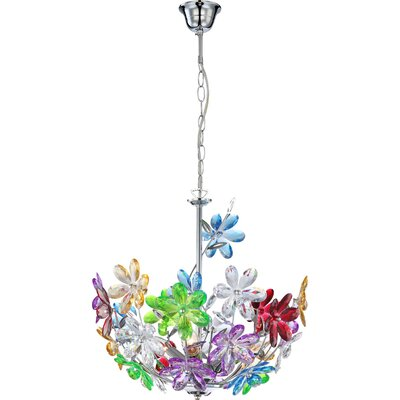 House Additions Rainbow 3 Light Inverted Pendant