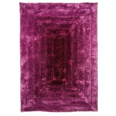 House Additions Ridge Handmade Purple Area Rug