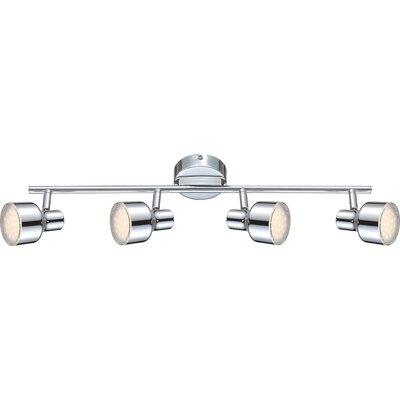 House Additions Rois 4 Light Semi-Flush Ceiling Light