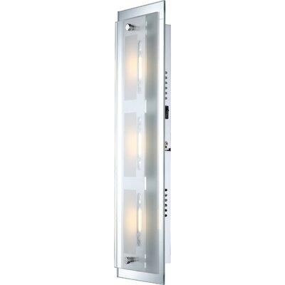 House Additions Sabira 3 Light Flush Wall Light