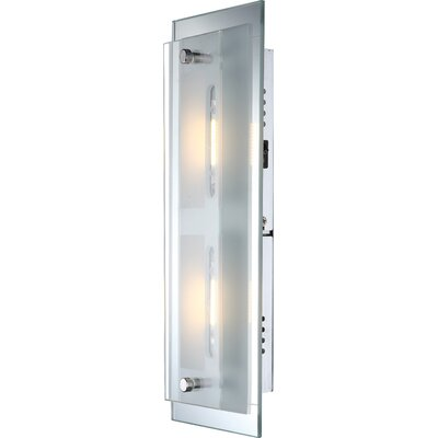 House Additions Sabira 2 Light Flush Wall Light