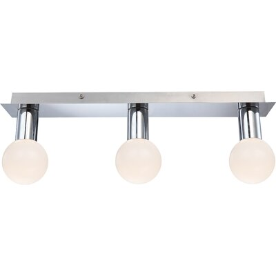 House Additions Solig 3 Light Semi Flush Ceiling Light