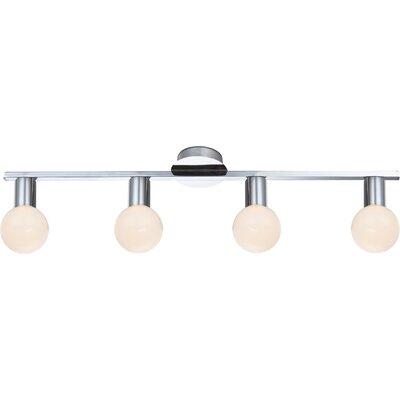 House Additions Solig 4 Light Semi-Flush Ceiling Light