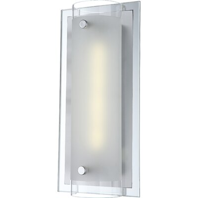 House Additions Specchio Ii 1 Light Flush Wall Light