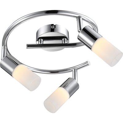 House Additions Spina 3 Light Semi-Flush Ceiling Light