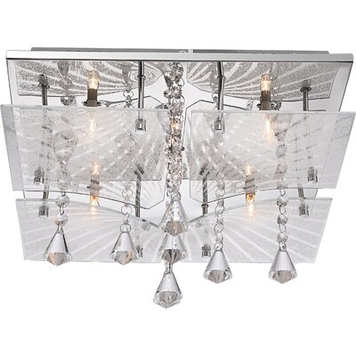 House Additions Verdi 5 Light Flush Ceiling Light