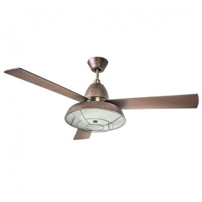 House Additions 132cm Vintage 3 Blade Ceiling Fan
