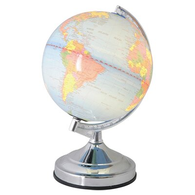 House Additions World Globe 31.5cm Table Lamp