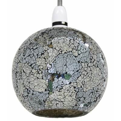 House Additions Sparkle Mosaic Globe Pendant
