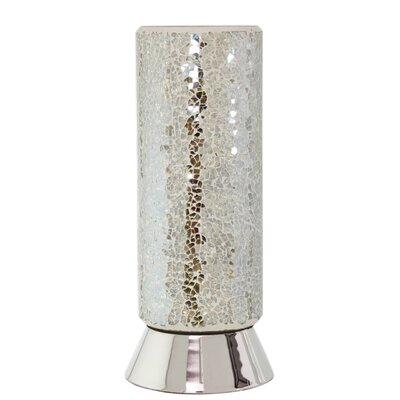 House Additions Sparkle Mosaic 27cm Table Lamp