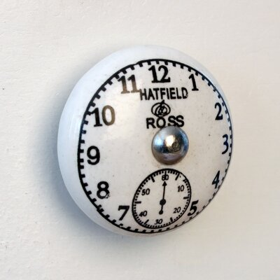House Additions Hatfield and Ross Clock Drawer Knob