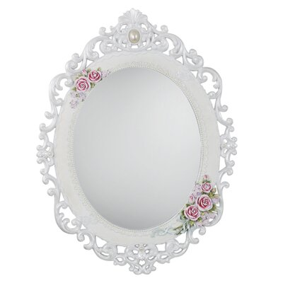 House Additions Rosebud Wall Mirror