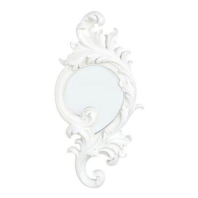 House Additions Baroque Round Mirror