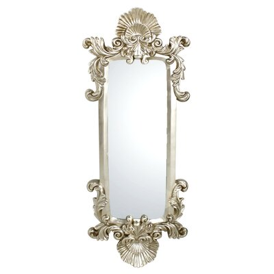 House Additions Baroque Long Scroll Mirror