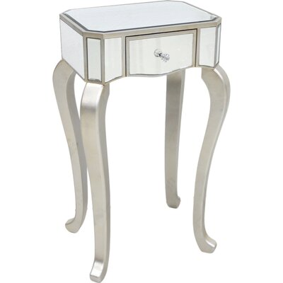 House Additions Mirror Side Table