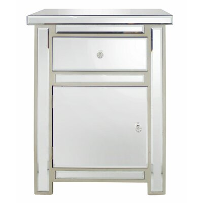 House Additions 1 Drawer Bedside Table