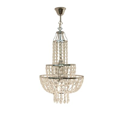 House Additions Olivia 3 Light Chandelier