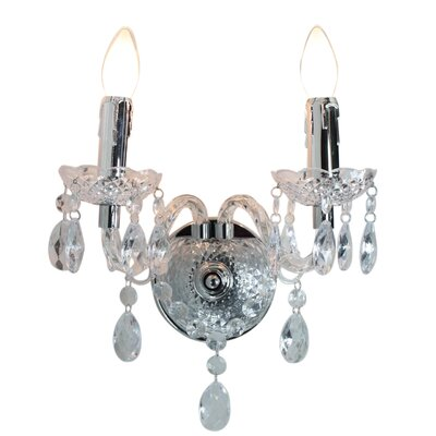 House Additions Princess 2 Light Wall Flush Light
