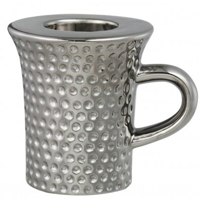 House Additions Mug Metal Tea Light Holder