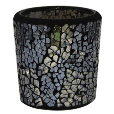 House Additions Mosaic Glass Tea Light Holder