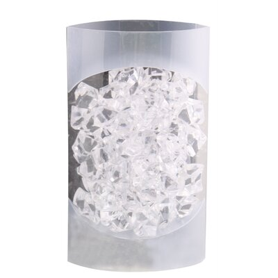House Additions Decorative Clear Acrylic Stone