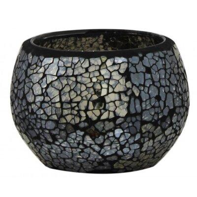 House Additions Glass Mosaic Tea Light Holder