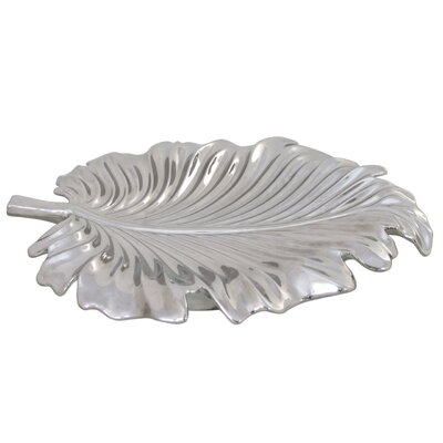 House Additions Decorative Abstract Leaf Dish