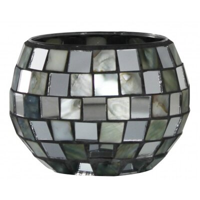 House Additions Morocco Mosaic Glass Tea Light Holder