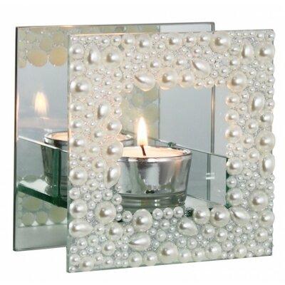 House Additions Single Mirror Tea Light Holder