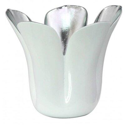 House Additions Tulip Ceramic Tea Light Holder