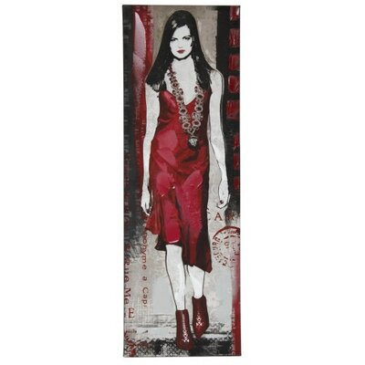 House Additions Runway Model Graphic Art on Canvas