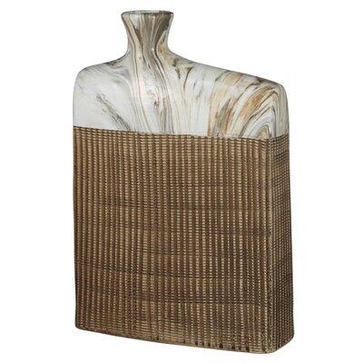 House Additions Marble Rectangular Vase