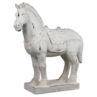 House Additions Globe Horse Figurine