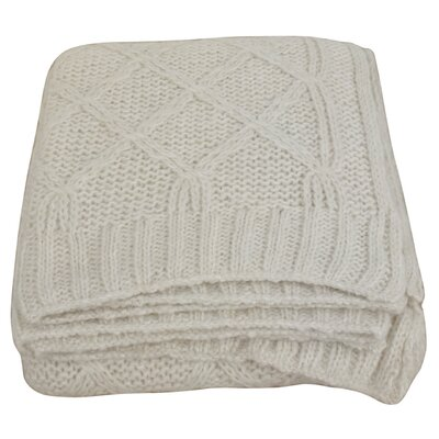 House Additions Diana Wool Throw