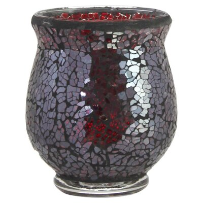 House Additions Mosaic Glass Tealight