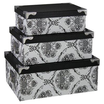 House Additions 3 Piece Viola Storage Box Set