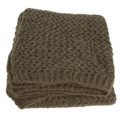 House Additions Claire Wool Throw