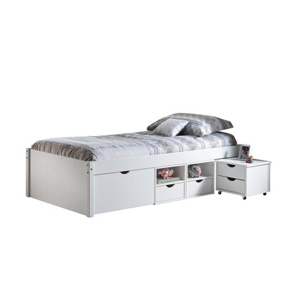 House Additions Modus European Single Mate's Bed with Storage