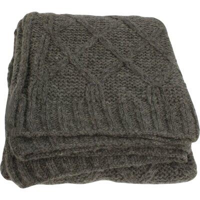 House Additions Lian Wool Throw
