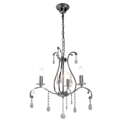 House Additions Pauline 3 Light Chandelier