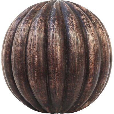 House Additions Decorative Wood Ball