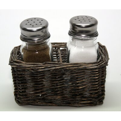 House Additions Mare 3 Piece Salt and Pepper Set