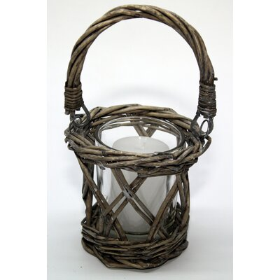House Additions Willow Votive Basket